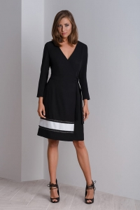 Chic cocktail wrap dress CALA