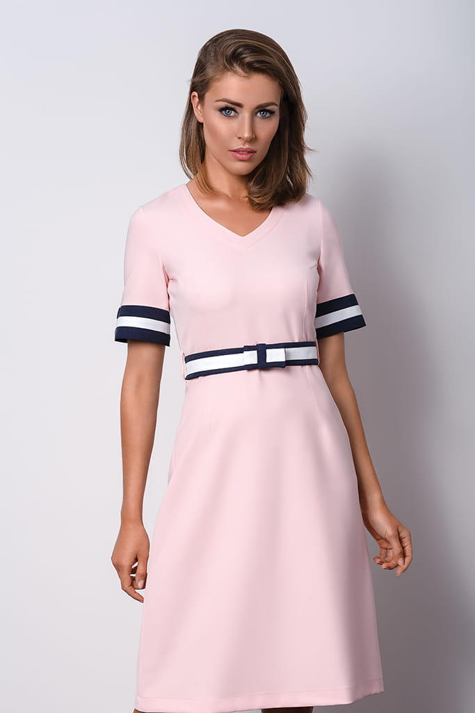 cb72df2a64 Delicate and romantic pink dress shop online