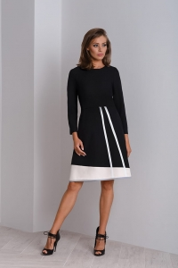 Black classic dress to work Catrise